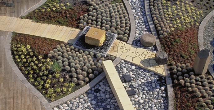 Harrison Hospital roof garden